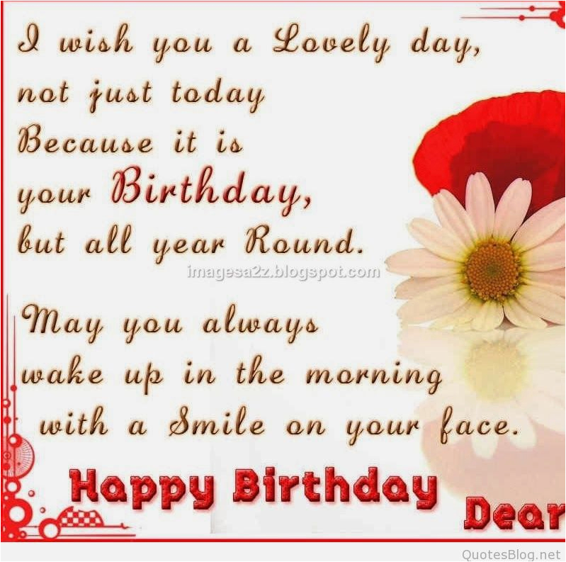 happy birthday quotes sms and messages ideas