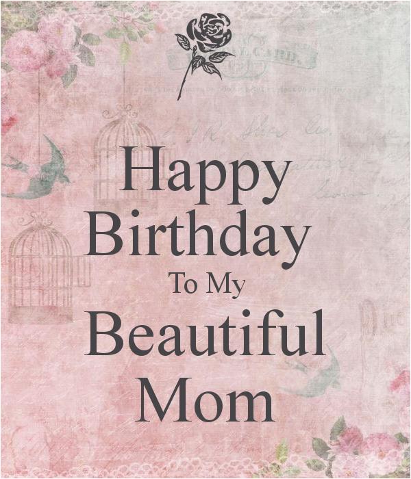happy birthday to my mom quotes