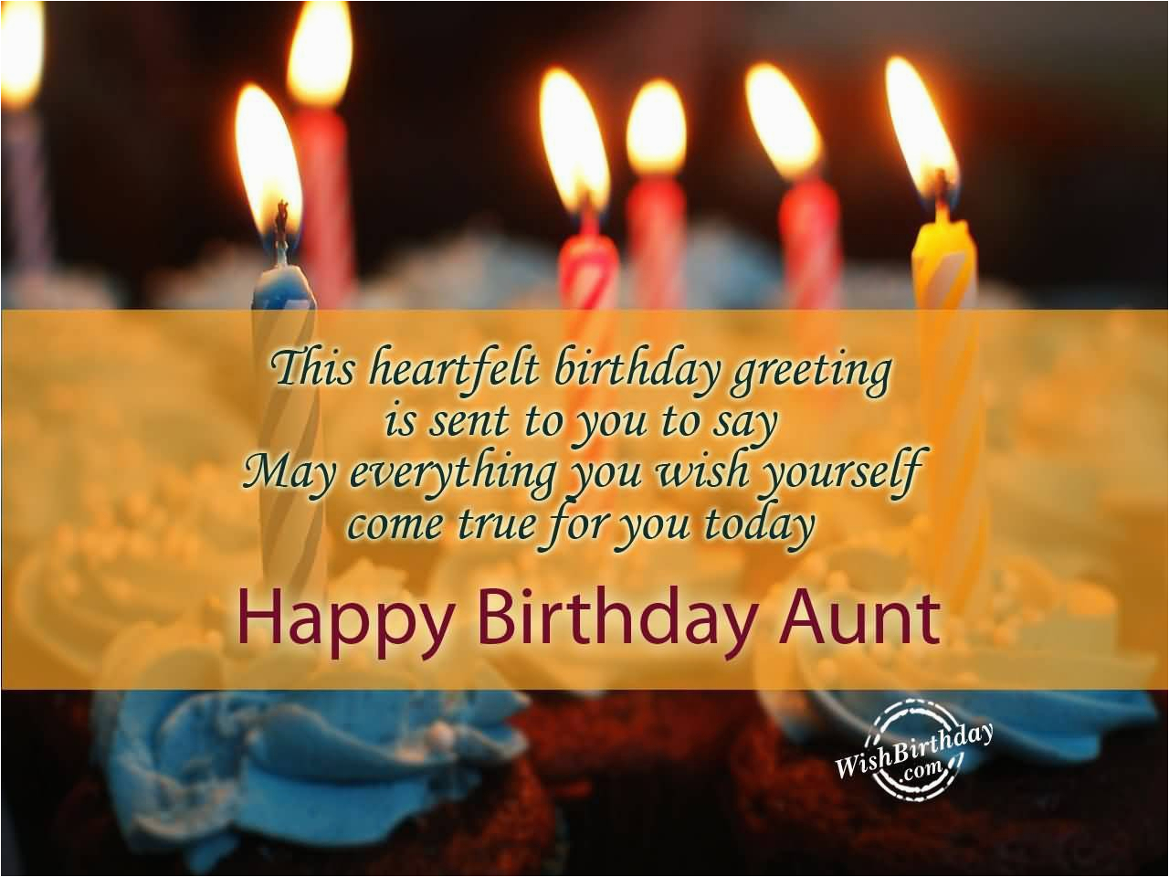 39 lovely aunt birthday wishes greetings