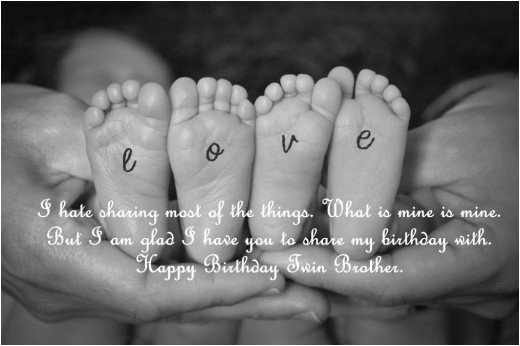 twin quotes birthday wishes