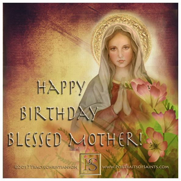 happy birthday blessed mother
