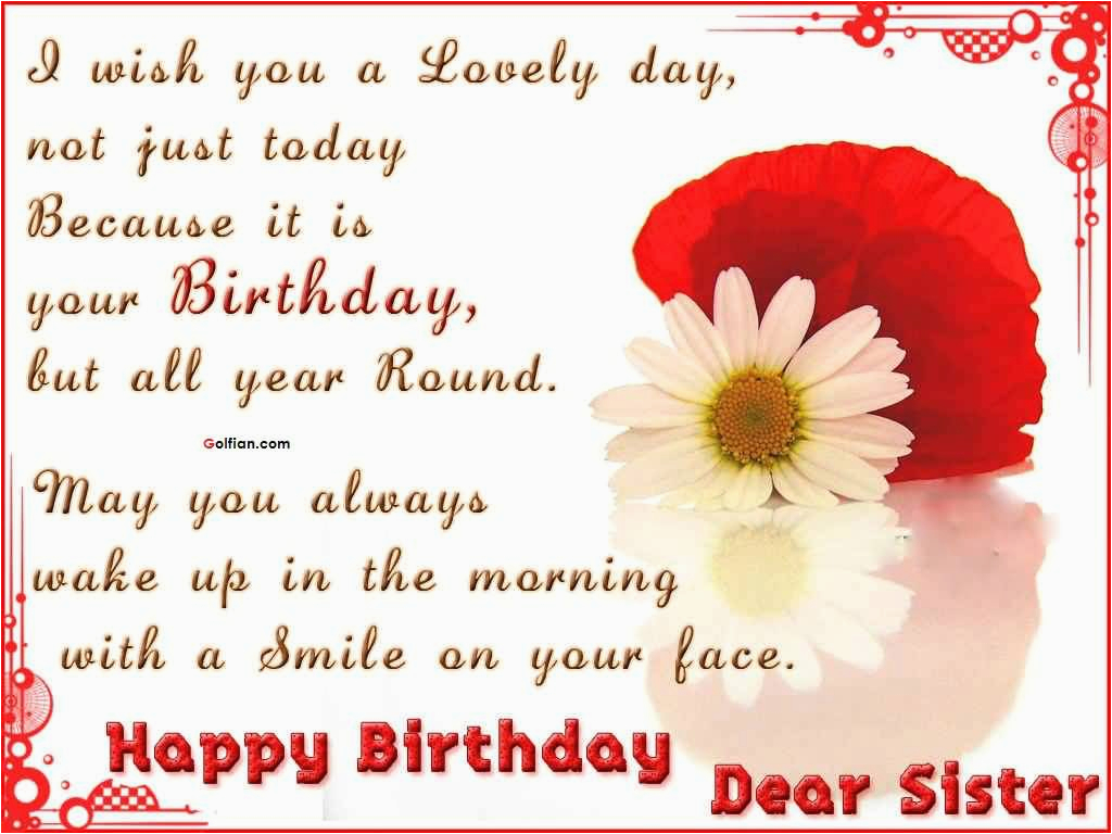 60 nice sister birthday quotes best birthday sayings for sister in law