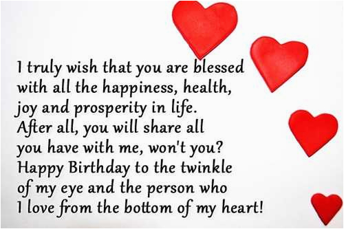 happy birthday quotes lover boyfriend romantic