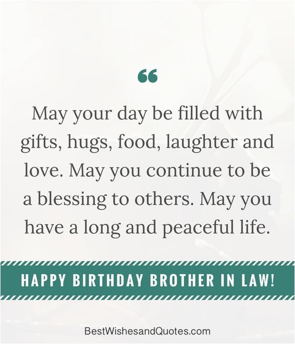happy birthday brother law