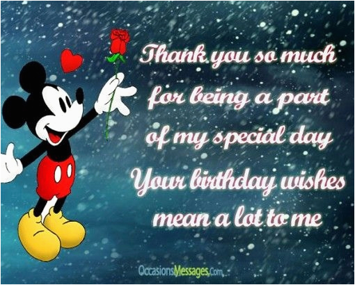 birthday wishes reply thanks message
