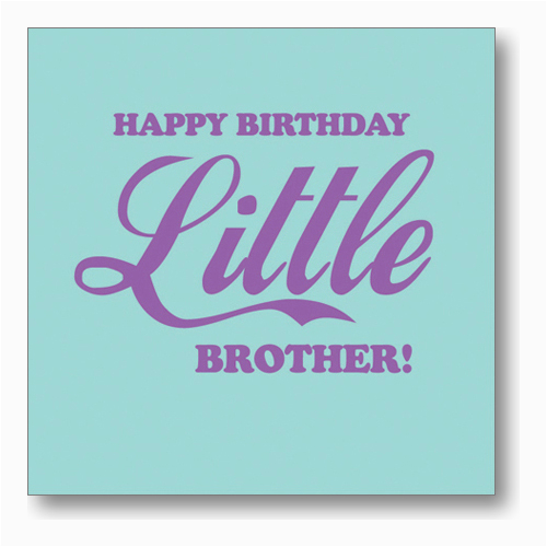 Happy Birthday Younger Brother Quotes Little Brother Birthday Quotes