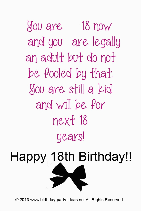 18th birthday quotes for girls