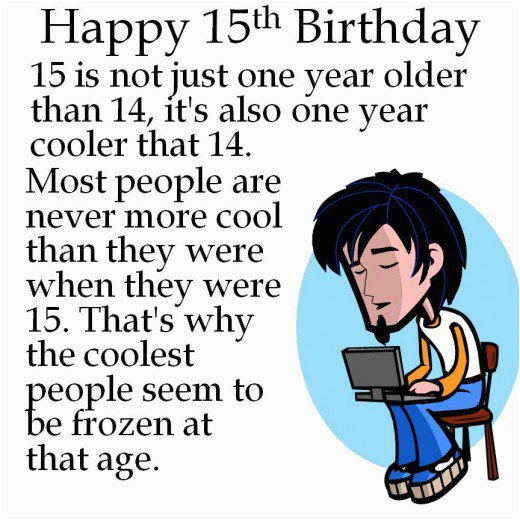 15th birthday for son quotes