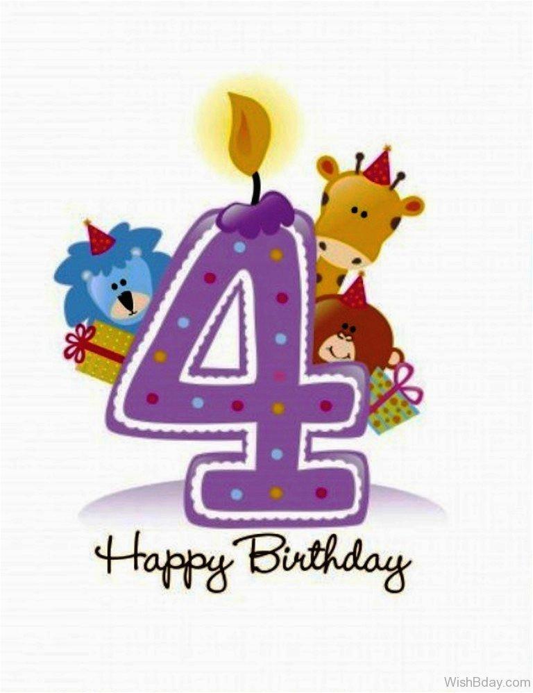 38 4th birthday wishes