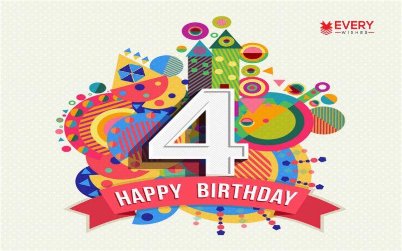 happy 4th birthday