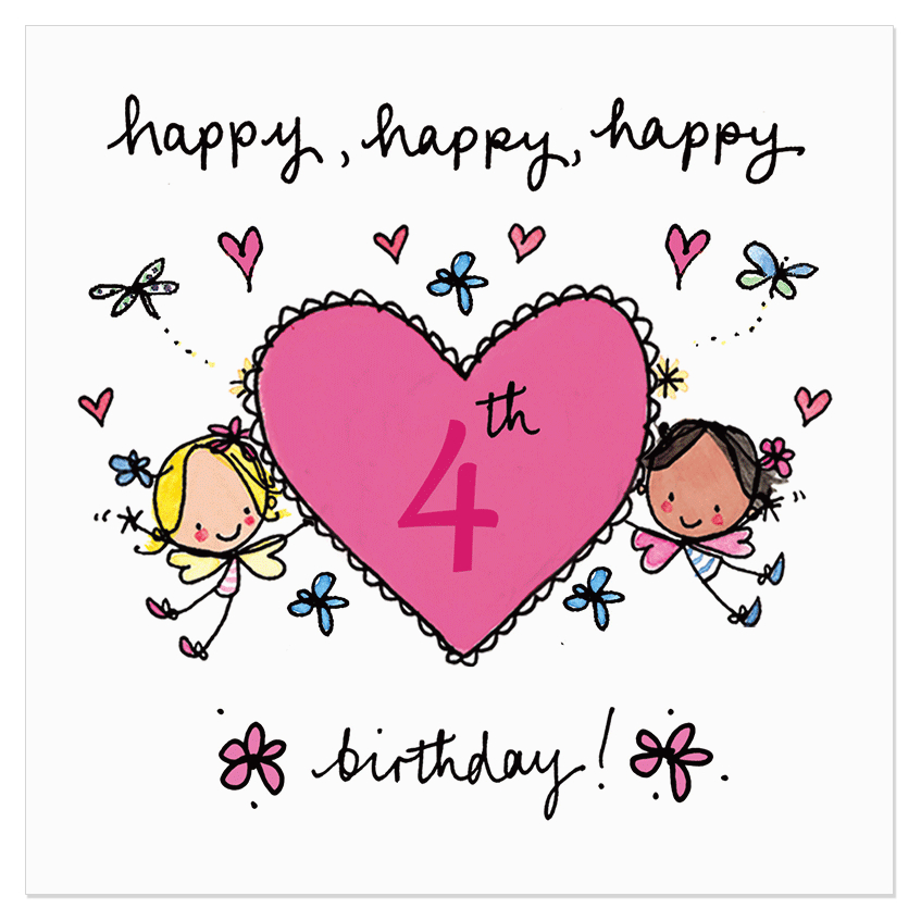 happy happy happy 4th birthday