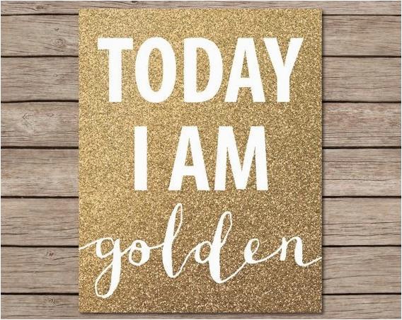 golden birthday bash ideas