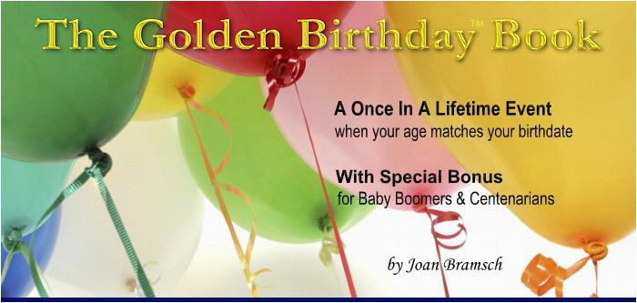 golden birthday quotes