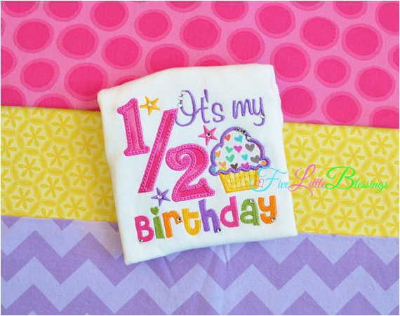 happy 12 birthday its my half birthday