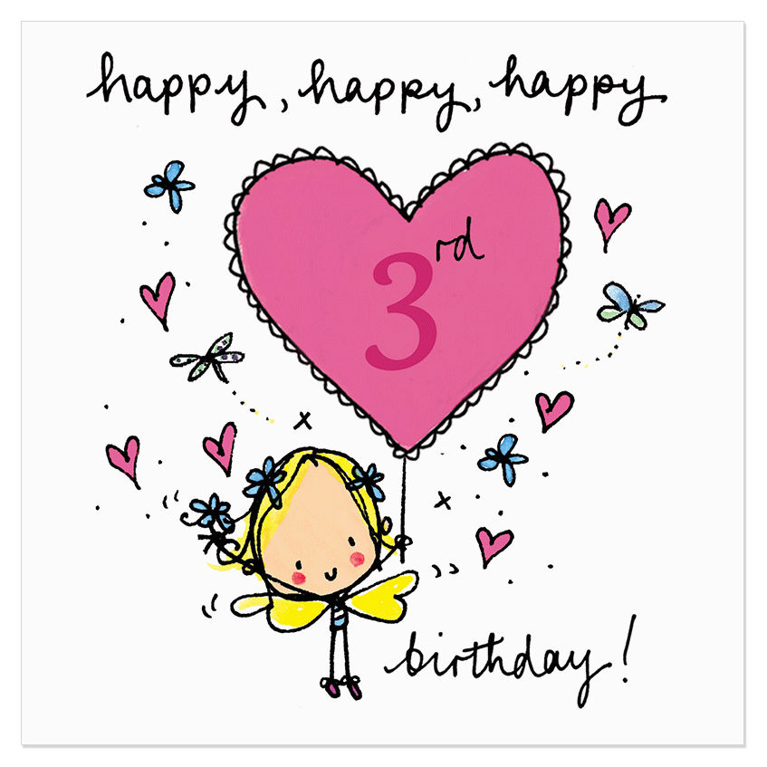 happy happy happy 3rd birthday