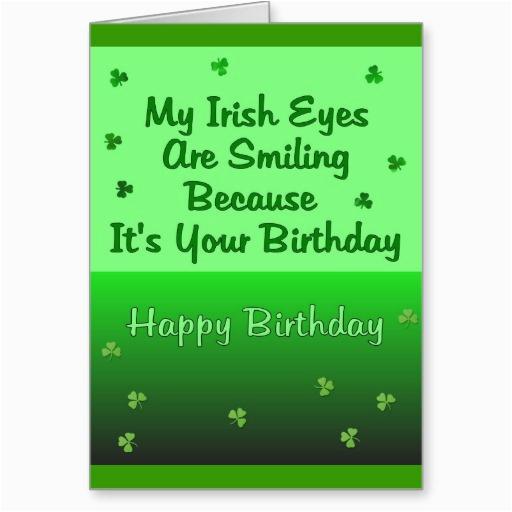 funny irish birthday quotes