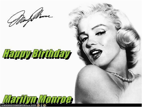 happy birthday marilyn monroe quotes