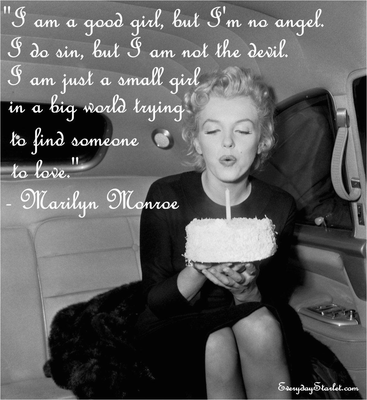 Marilyn Monroe Happy Birthday Quotes Marilyn Monroe Birthday Quotes Quotesgram