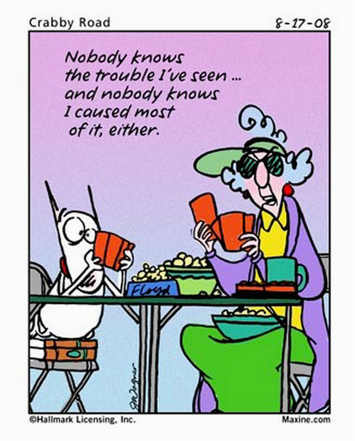 funny birthday quotes from maxine