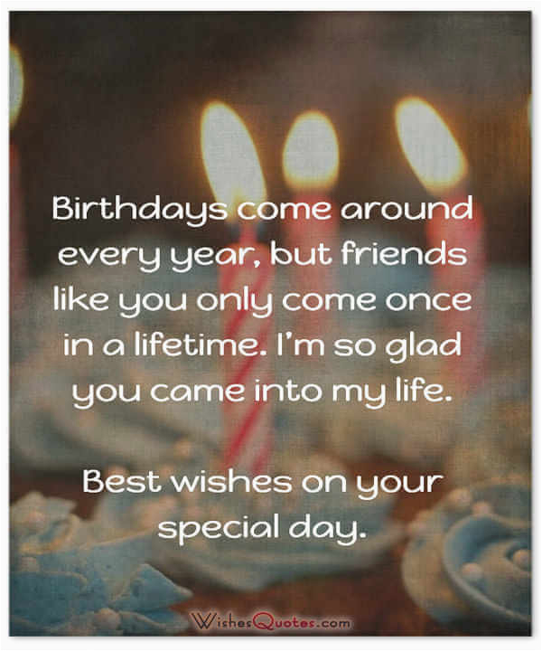top 50 friends birthday wishes