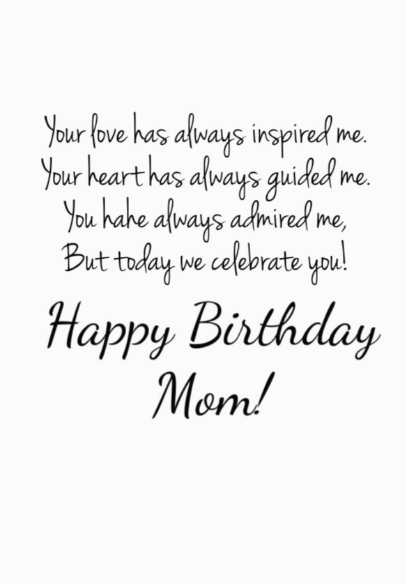 Quotes On Happy Birthday Mom Happy Birthday Mom 39 Quotes to Make Your Mom Cry with