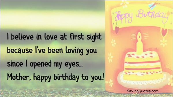 happy birthday mother quotes and sayings