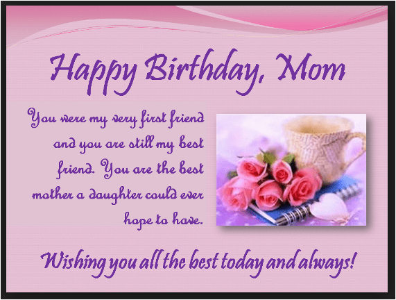 happy birthday mom quotes from daughter son to my mother