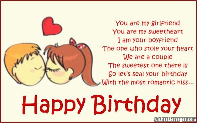 birthday poems for girlfriend