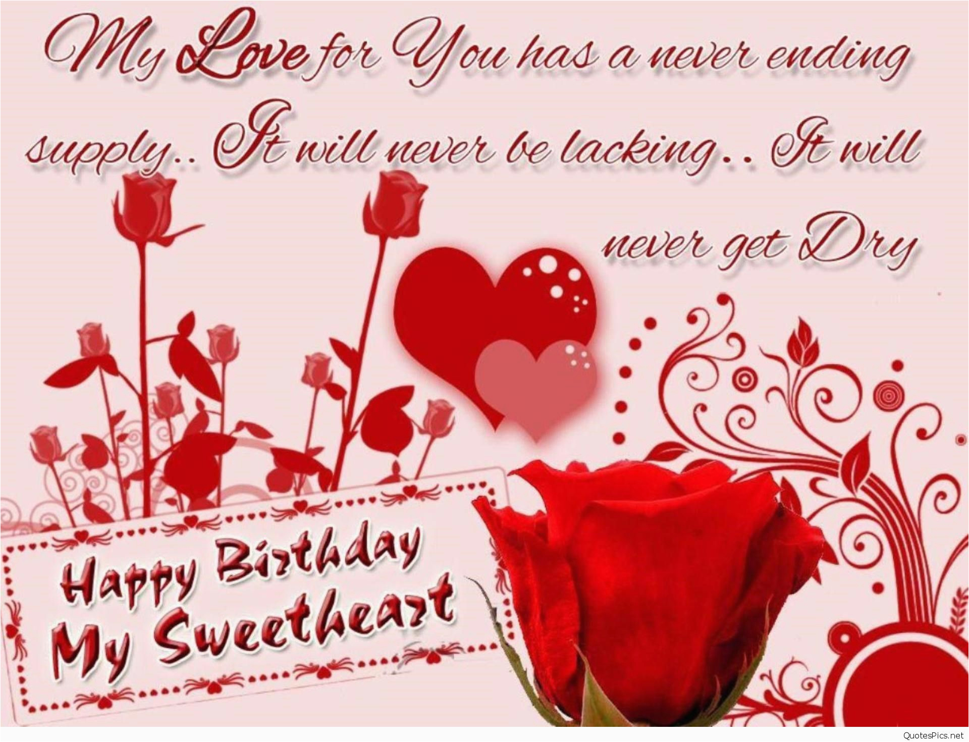 Romantic Happy Birthday Quotes For My Boyfriend Wishes Cards