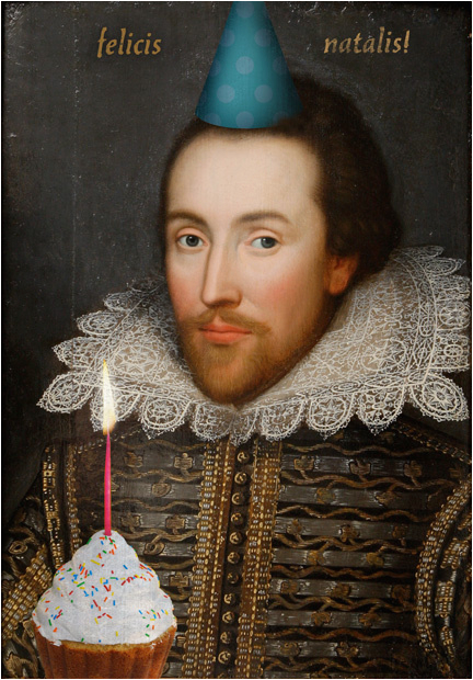 happy birthday shakespeare