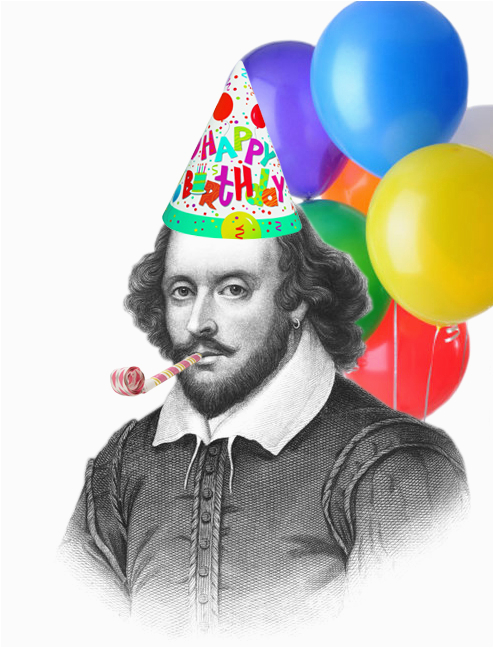 in honor of william shakespeares 450th birthday this week