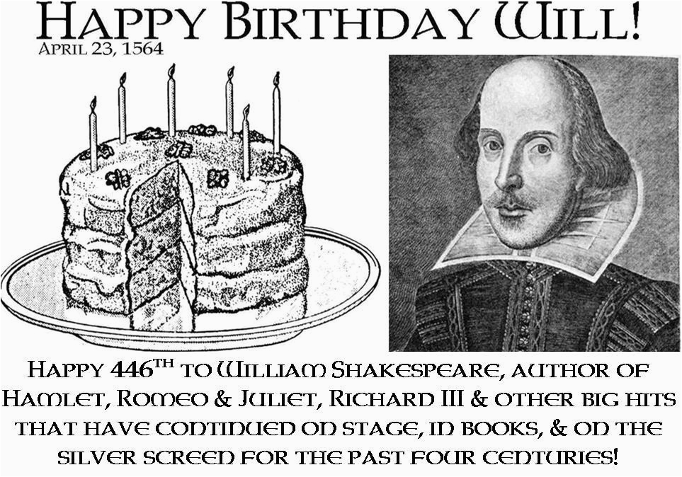 shakespeare birthday quotes