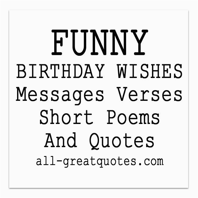 funny birthday wishes poems to write in birthday cards s ea4a53