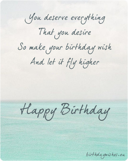 birthday poems for friend