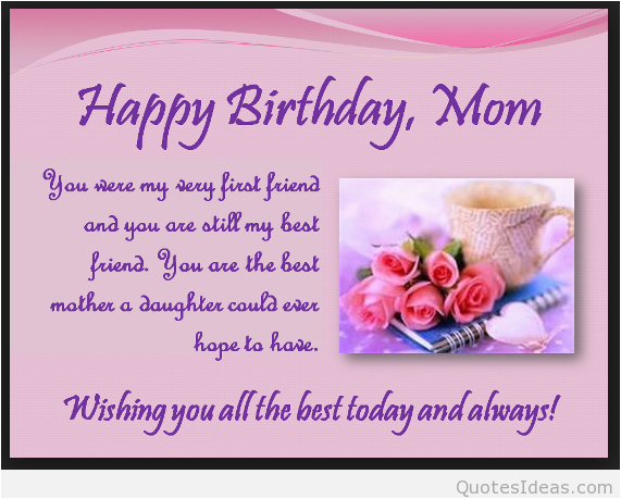 happy birthday mom quotes from son and daughter