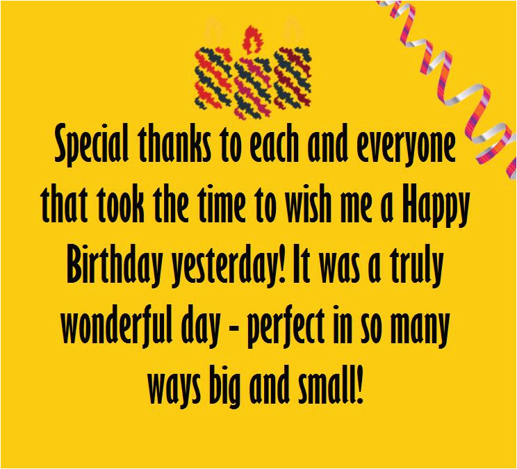 thank you birthday wishes note messages