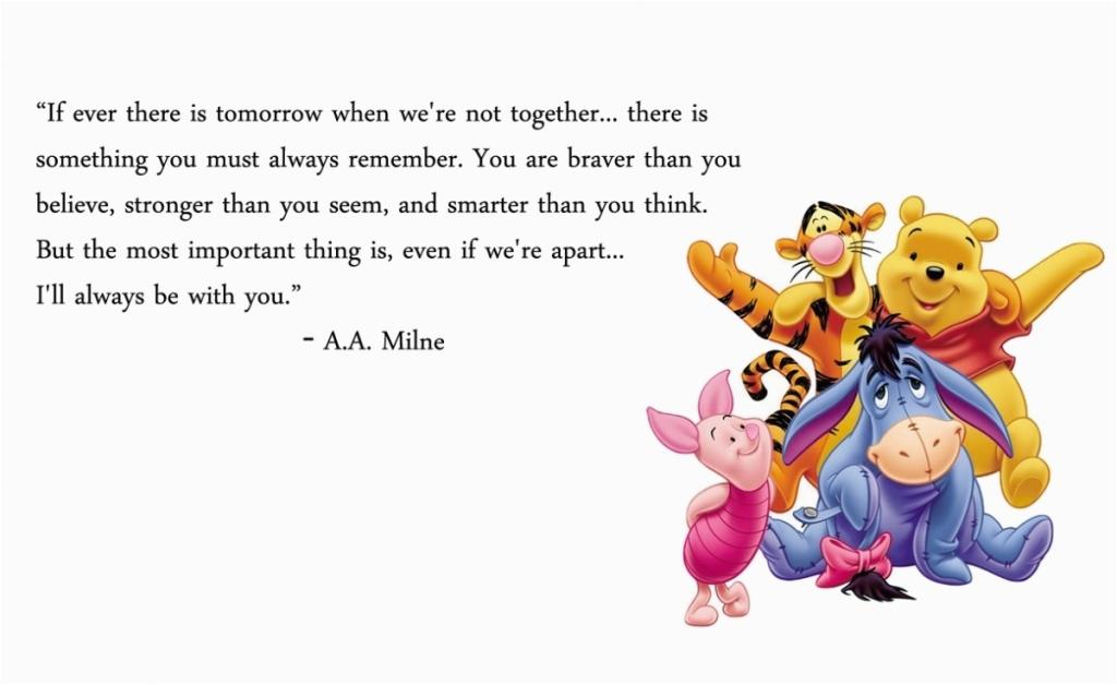 winnie the pooh happy birthday quote