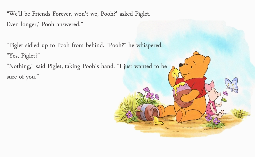 winnie the pooh happy birthday quote winnie the pooh quotes about friends quotesgram