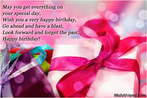 may you get everything on your special day wish you a very happy birthday