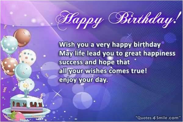 45 fabulous happy birthday wishes