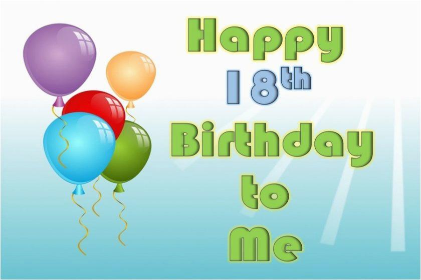 Wishing Myself A Happy Birthday Quotes Happy 18th Birthday Wishes Messages and Quotes to Myself
