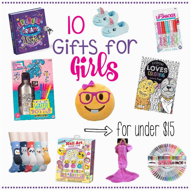 10 gifts girls