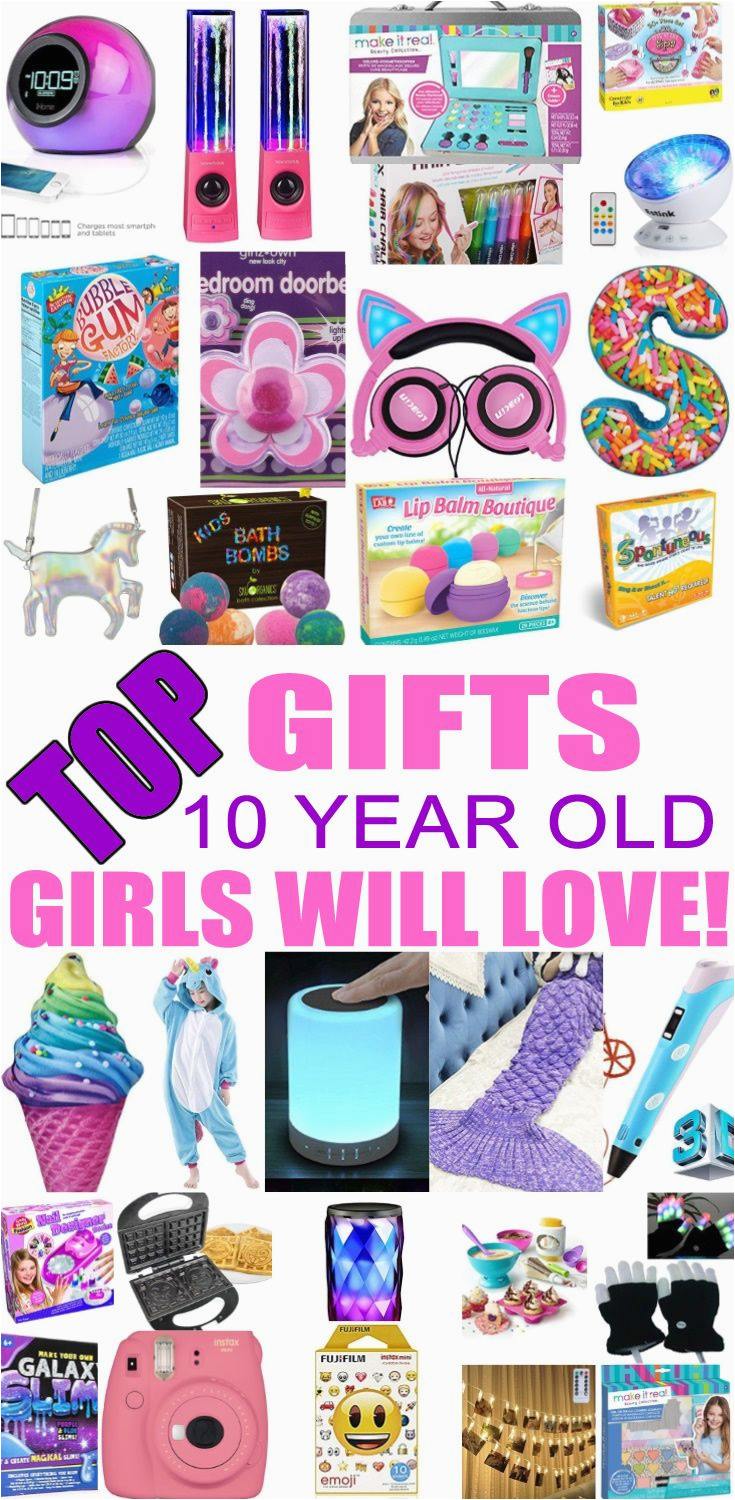 10 Year Old Birthday Girl Gift Ideas Best Gifts for 10 Year Old Girls top Kids Birthday Party