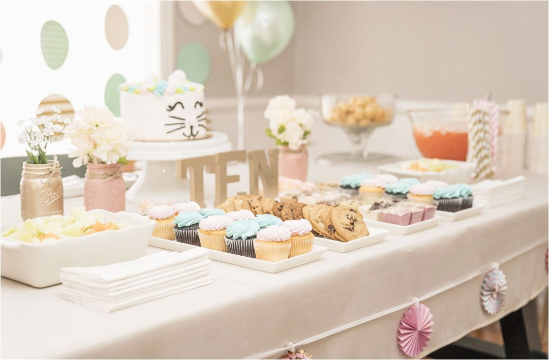 girls 10th birthday party ideas
