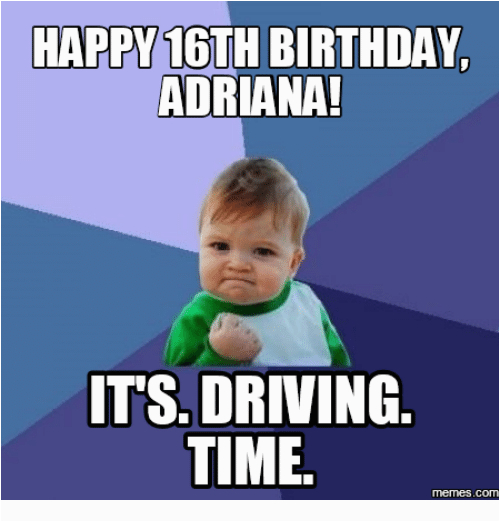 16th Birthday Meme 25 Best Memes About Happy 16th Birthday Happy 16th