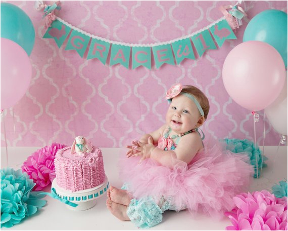 first birthday banner 1st birthday girl