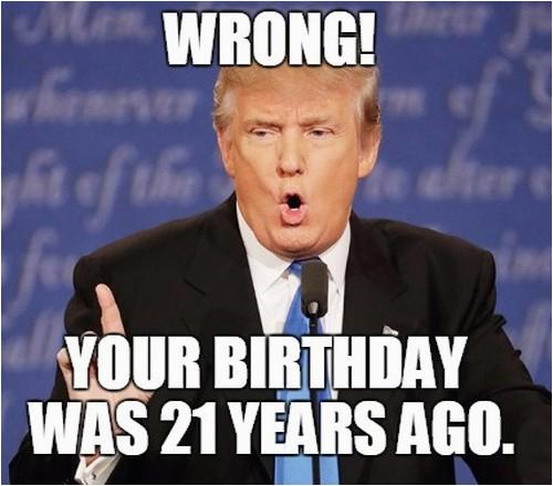 21st birthday memes