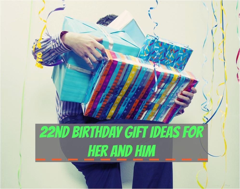 22nd birthday gift ideas