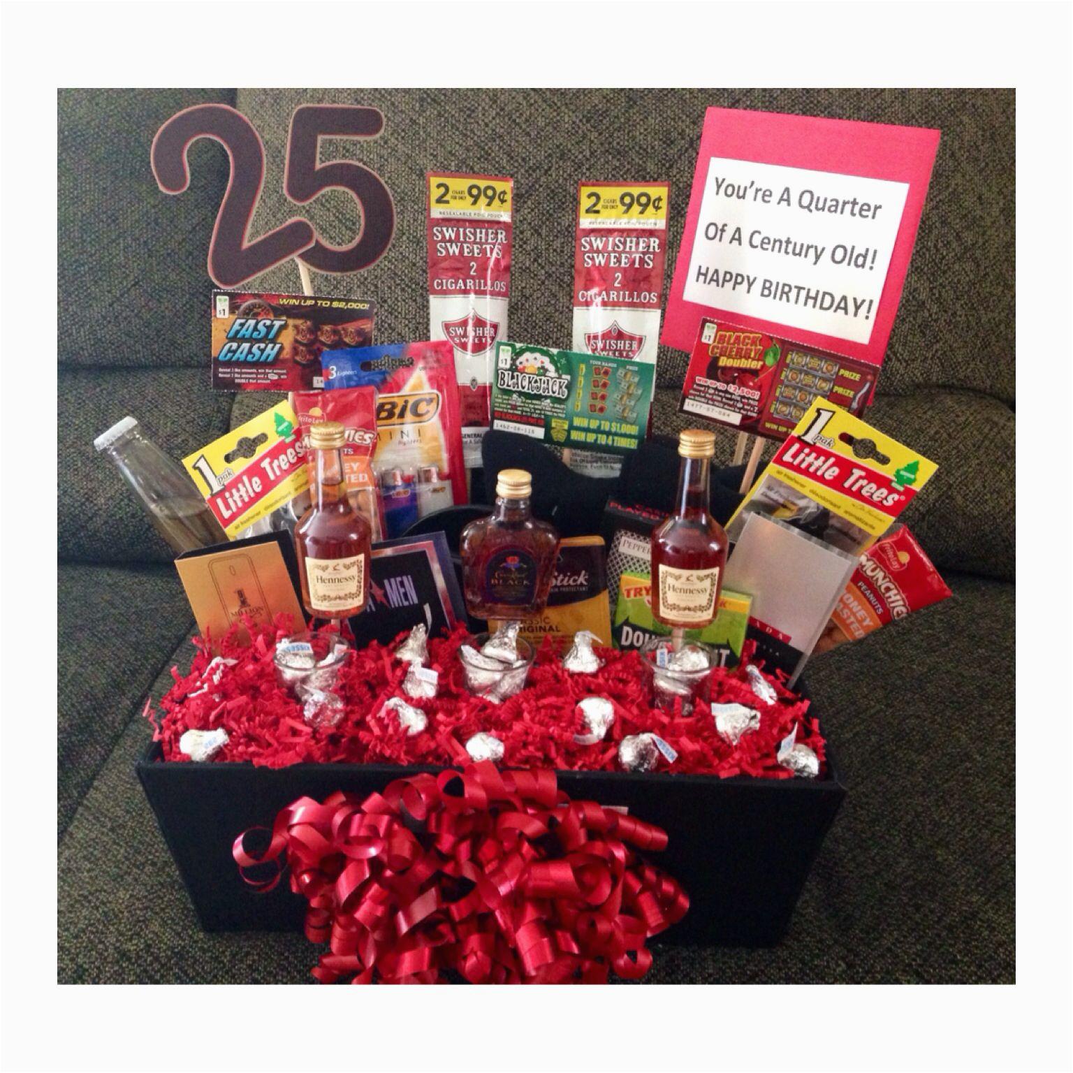 25th Birthday Gifts for Him 25th Birthday Ideas Diy 25th Birthday Gifts 25th