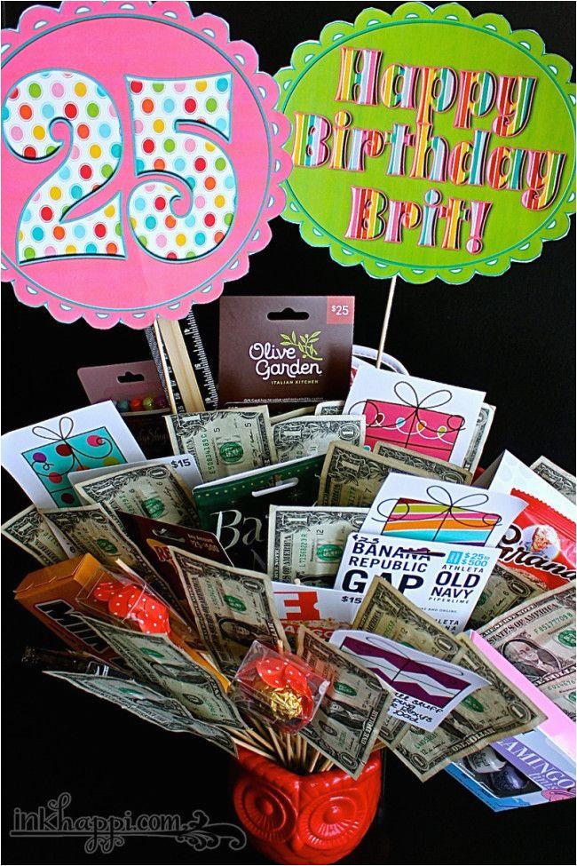 25th birthday gifts
